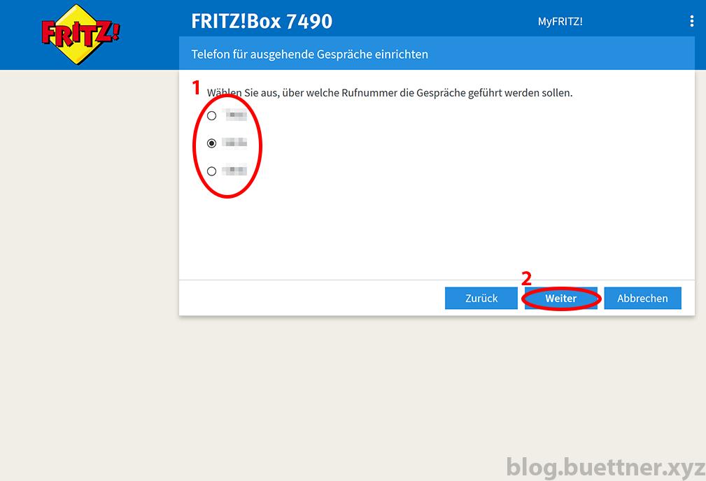 FRITZ!Box neues Telefoniegerät einrichten - Schritt 4