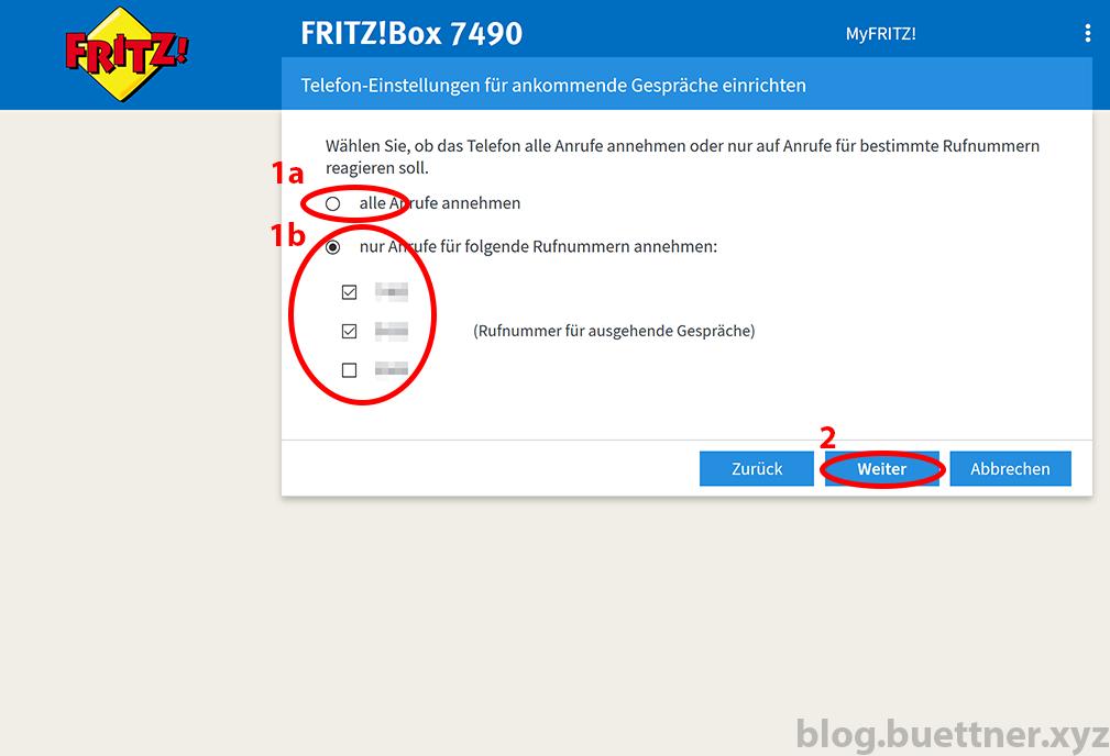 FRITZ!Box neues Telefoniegerät einrichten - Schritt 5