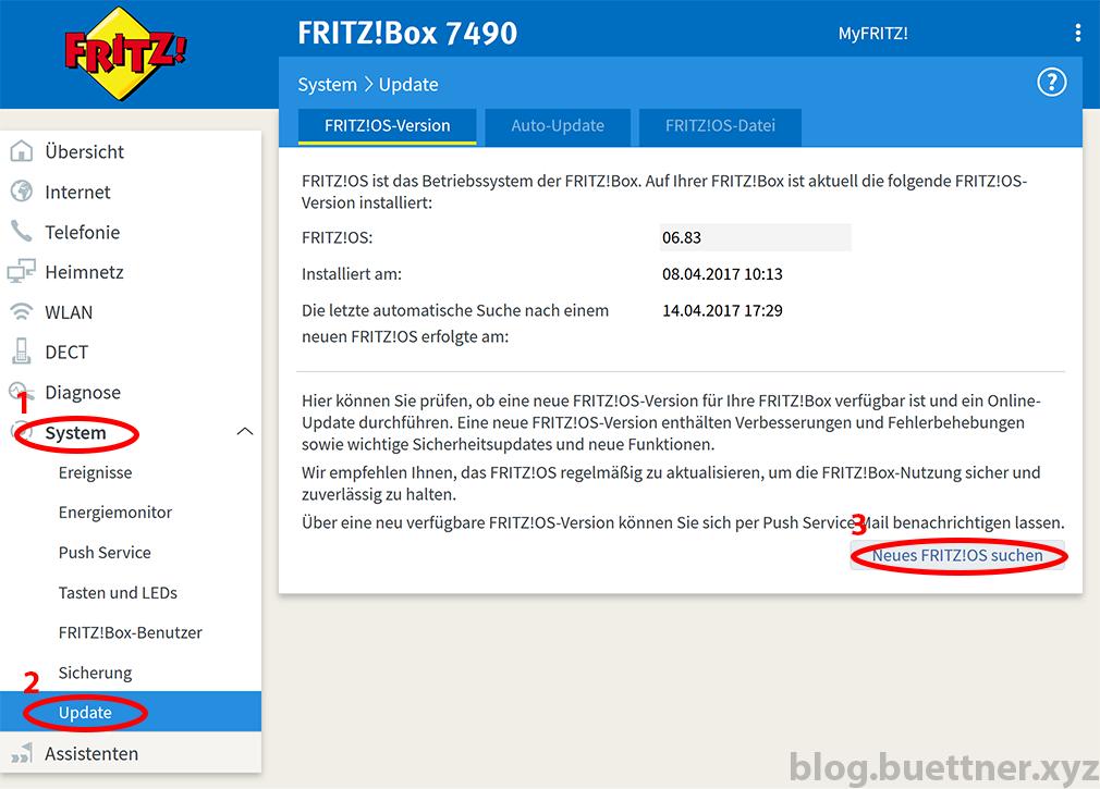 FRITZ!Box Updates